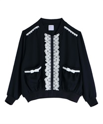 【OUTLET】(キッズ)シフォンブルゾン【Web価格】